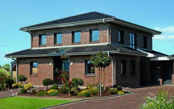 Trwały i piękny dom z cegłą elewacyjną Röben