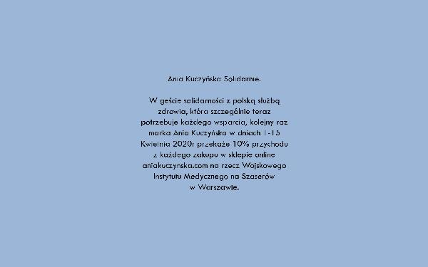 Marka Ania Kuczyńska pomaga