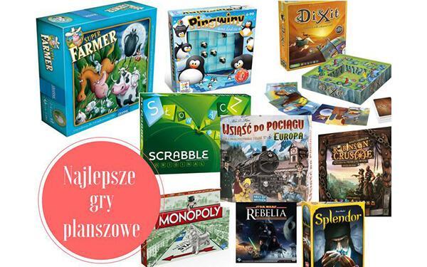 21 fajnych gier planszowych nie tylko dla dzieci