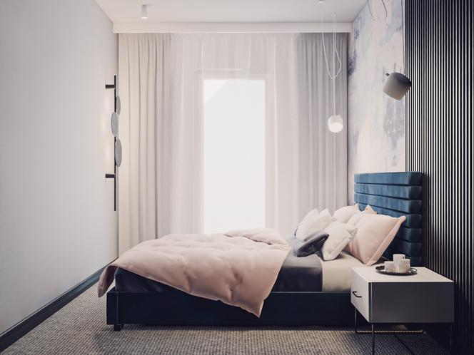 Miejski minimalizm – sypialnia w wersji drugiej