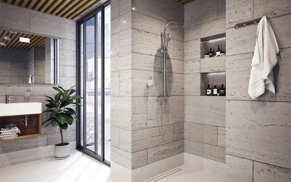 Prysznic bez brodzika i kabiny: jak urządzić taką łazienkę?
