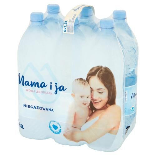 woda źródlana stworzona z myślą o dzieciach, kobietach w ciąży i mamach karmiących zdjęcie