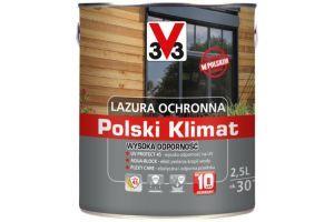 Lazura ochronna Polski Klimat Wysoka Odporność zdjęcie